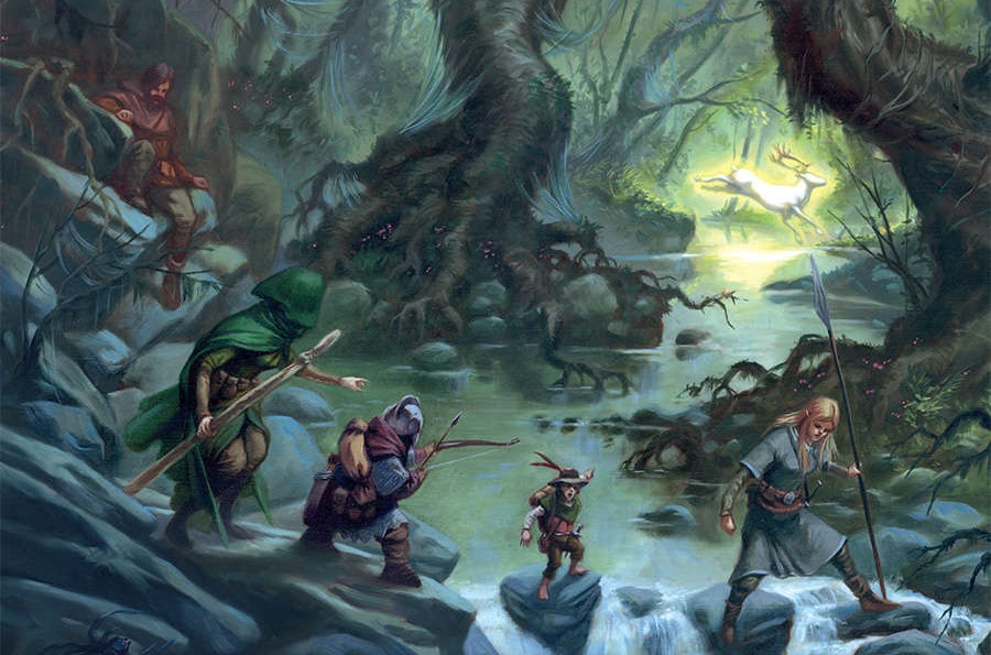 Adventures in Middle-earth - The Eaves of Mirkwood